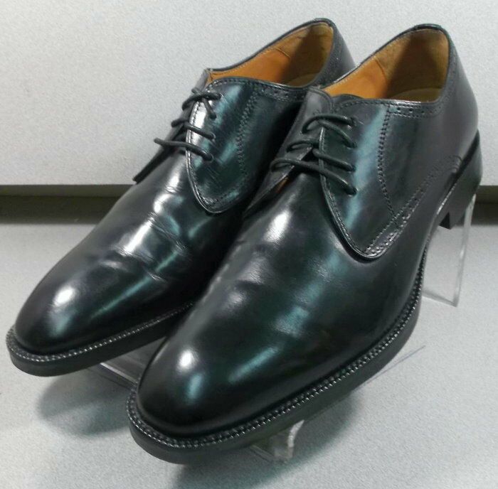 152661 PF50 Men's Shoes Size 10 M Black Leather Lace Up Johnston & Murphy