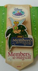 Disney-WDW-Pin-2004-Members-are-Magic-with-Tinker-Bell-Disney-Vacation-Club