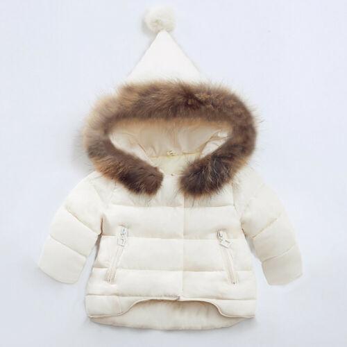 Winter Warm Baby Girls Boys Kids Jacket Fashion Coat Autumn Children Clothes