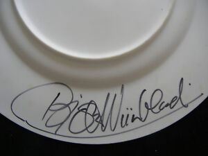 Rosenthal-Christmas-Plate-1975-Autographed-by-The-Artist-Meine-Pos-1975-1