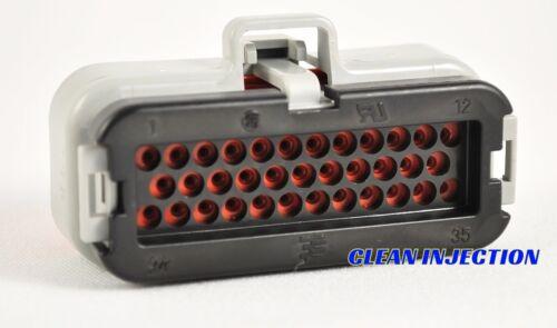 ms3pro EVO Gen 1 white gray AMPSEAL Connectors ECU 35 pin plug efi ms3-pro