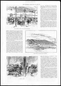 1897-Antique-Print-WEST-MIDLANDS-Coventry-Silk-Factory-Brandon-Packing-252