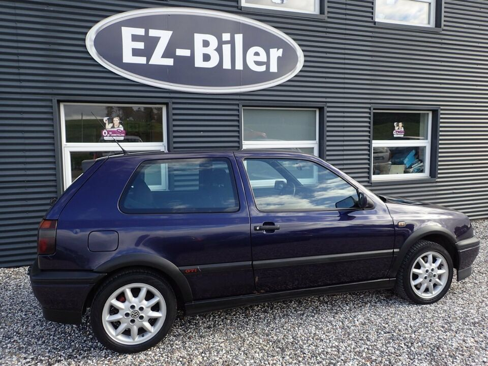 VW Golf III 2,0 GTi 16V Benzin modelår 1997 km 315000