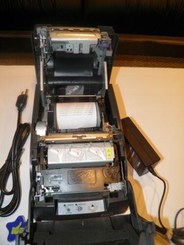 Epson TM-U220B M188B Dot Matrix POS Receipt Printer Serial w AC Adapter