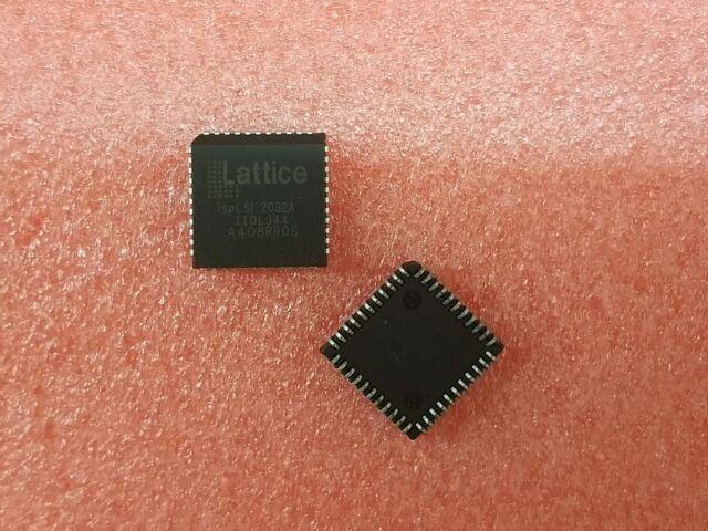 LATTICE 5V CPLD iSPLSI2032-135LJ 135MHZ 44 Pin PLCC  32 MACRO CELL *NEW* Qty.10