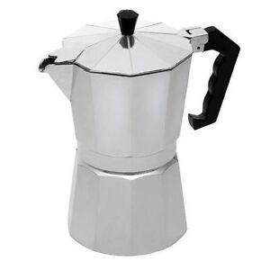CONTINENTAL Espresso STOVE-Top Moka Tea Coffee Maker//a Filtro Caraffa