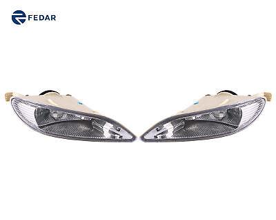Fedar Clear Lens Fog Light Kit For 02-04 Toyota Camry//05-08 Corolla//02-03 Solara
