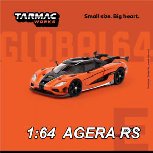 Tarmac-Works-TW-1-64-Koenigsegg-AGERA-RS-Orange-Die-Cast-Car-Model-Collection