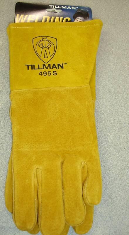 Welding Gloves Size Medium 495 TILLMAN pigskin material