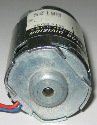 "Made in USA 8/"" Leads Permanent Magnet TRW Globe 405A 4500 RPM Motor 6 V DC"