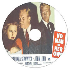 No Man of Her Own  - Barbara Stanwyck, John Lund - Drama, Film-Noir - 1950 - DVD