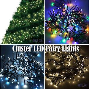 CLUSTER-lumieres-Fee-DEL-Interieur-Exterieur-Noel-Arbre-De-Noel-Maison-Decoration