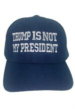 03df4a3fbd8 Not My President Cap Flexfit Hat Clinton VS Trump for sale online