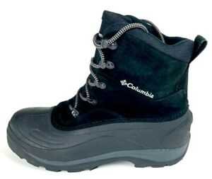 Columbia Mens Cascadian Summit II Winter Boots Black Water ...
