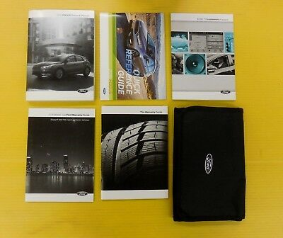 focus   ford owners owners manual set  case