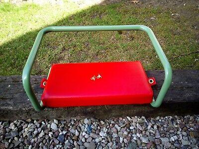 Sitzbügel Beifahrersitz Deutz-6006 3006 4006 4506 6206 9005 Sitzkissen// grün