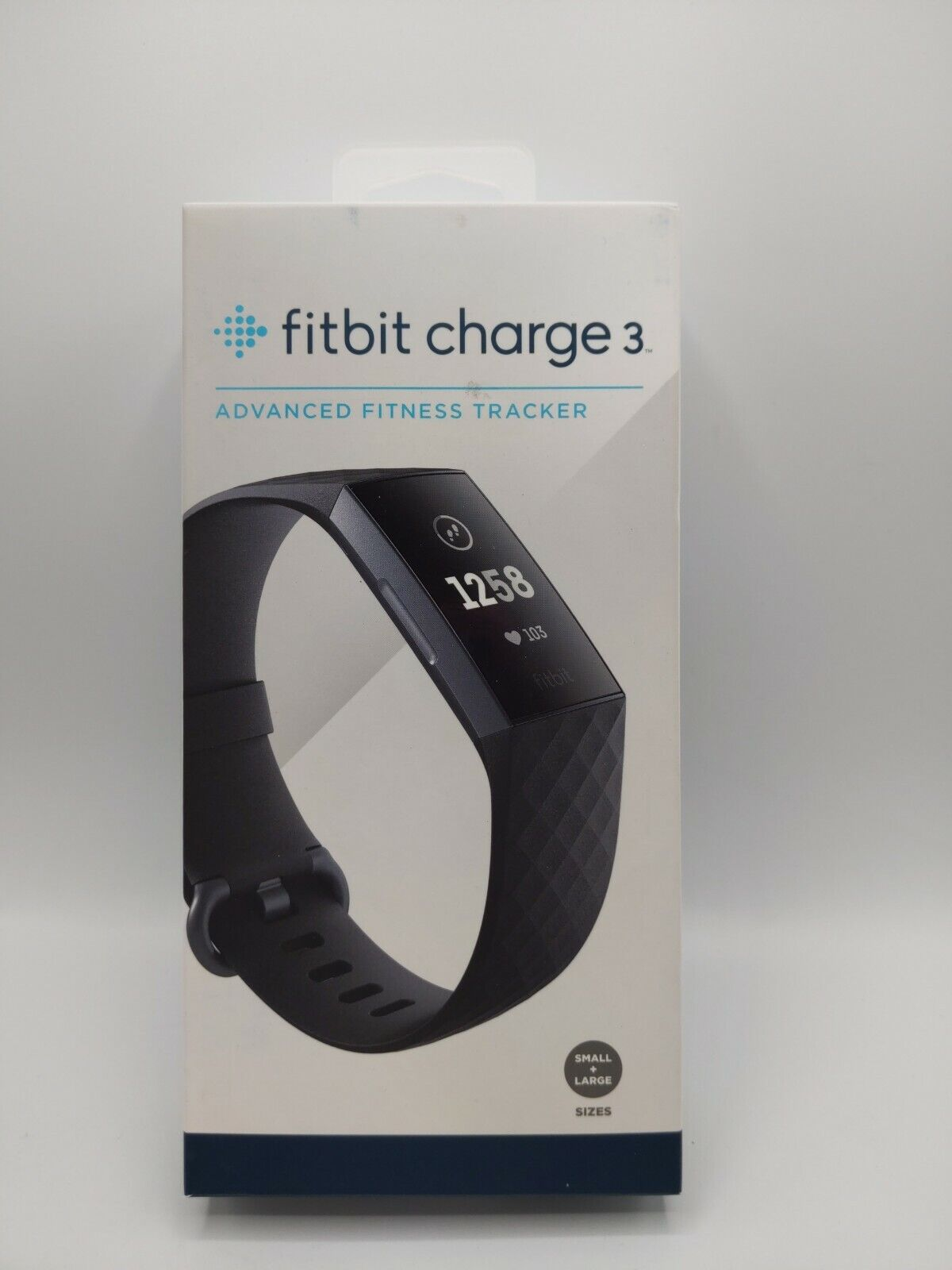 Fitbit Charge 3 Fitness Activity Tracker - Graphite/Black Fitbit Band