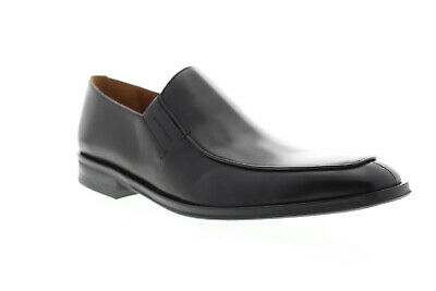 Bruno Magli Margot BM600353 Mens Black Leather Dress Slip On Loafers Shoes