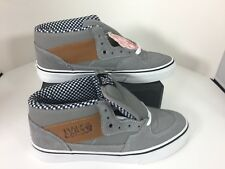 66091de51f2540 item 5 Vans Half Cab waxed canvas grey skate shoes sneakers Men 6.5. Women  8 New in Box -Vans Half Cab waxed canvas grey skate shoes sneakers Men 6.5.