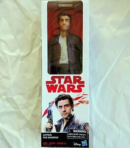 C2098-Star-Wars-E8-Last-Jedi-CAPTAIN-POE-DAMERON-12-Inch-Action-Figure-2017-NIB