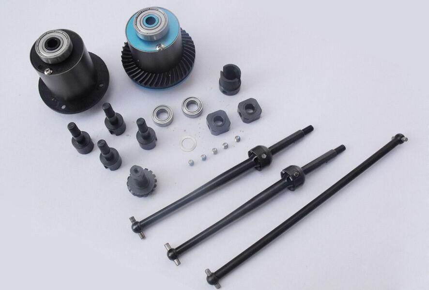 4wd aufrüstkit 4x4 ruedas kit para Reely Big Survivor XTC monstruo Truck rh511