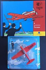 TINTIN en avion n°8 L'avion rouge de L'île Noire État neuf
