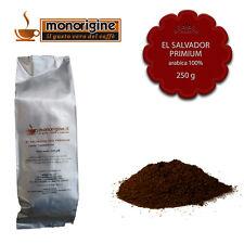 Caffè Arabica macinato fresco per espresso El Salvador Primium 250 gr