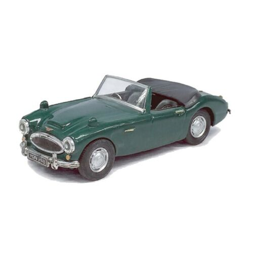 Green Assembled Atlas O Scale Austin Healy Convertible Coup Model Car