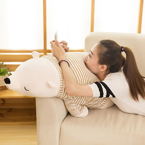 70cm-Giant-Big-Polar-Bear-Plush-Soft-Stuffed-Animals-Toys-Doll-Pillow-Cushion-US