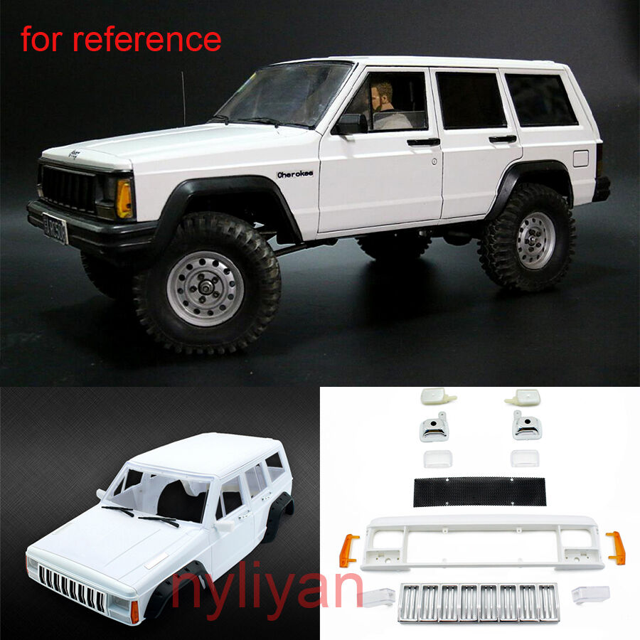 ABS 313mm Hard Plastic Body Shell For 1 10 Sale Cherokee XJ Axial SCX10 RC4WD