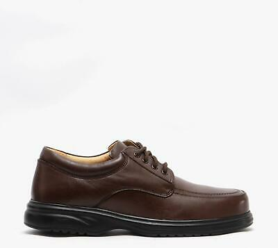 roamers lowell mens casual smart comfort leather wide e