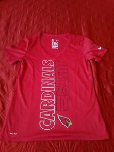 502cd614 Details about Arizona Cardinals Womens Sz M The Nike Tee. Dri Fit T Shirt  athletic cut