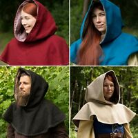 Medieval Hood Perfect For Stage Costume, Re-enactment And LARP