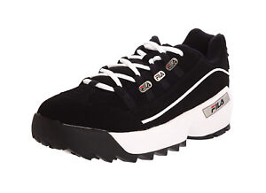 FILA-hometown-Extra-FB-Black-White-Lace-Up-Sneakers-Adult-Men-Shoes