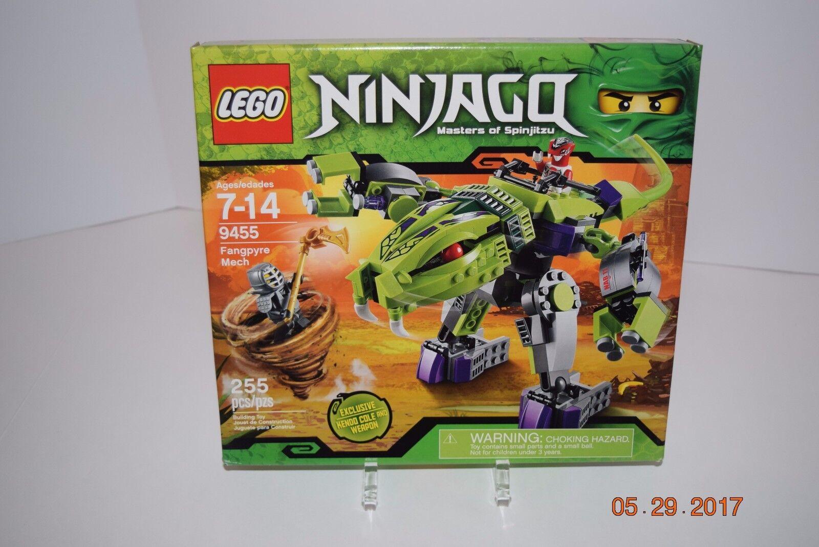 Lego NINJAGO 9455 --Fangypre Mech - Age 7+, 225 pcs --Sealed -- Retirosso --- NEW