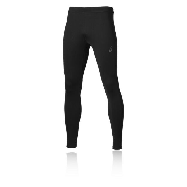 Asics Recovery Herren Trainingshose Laufhose Jogging Hose Sport Tight Schwarz