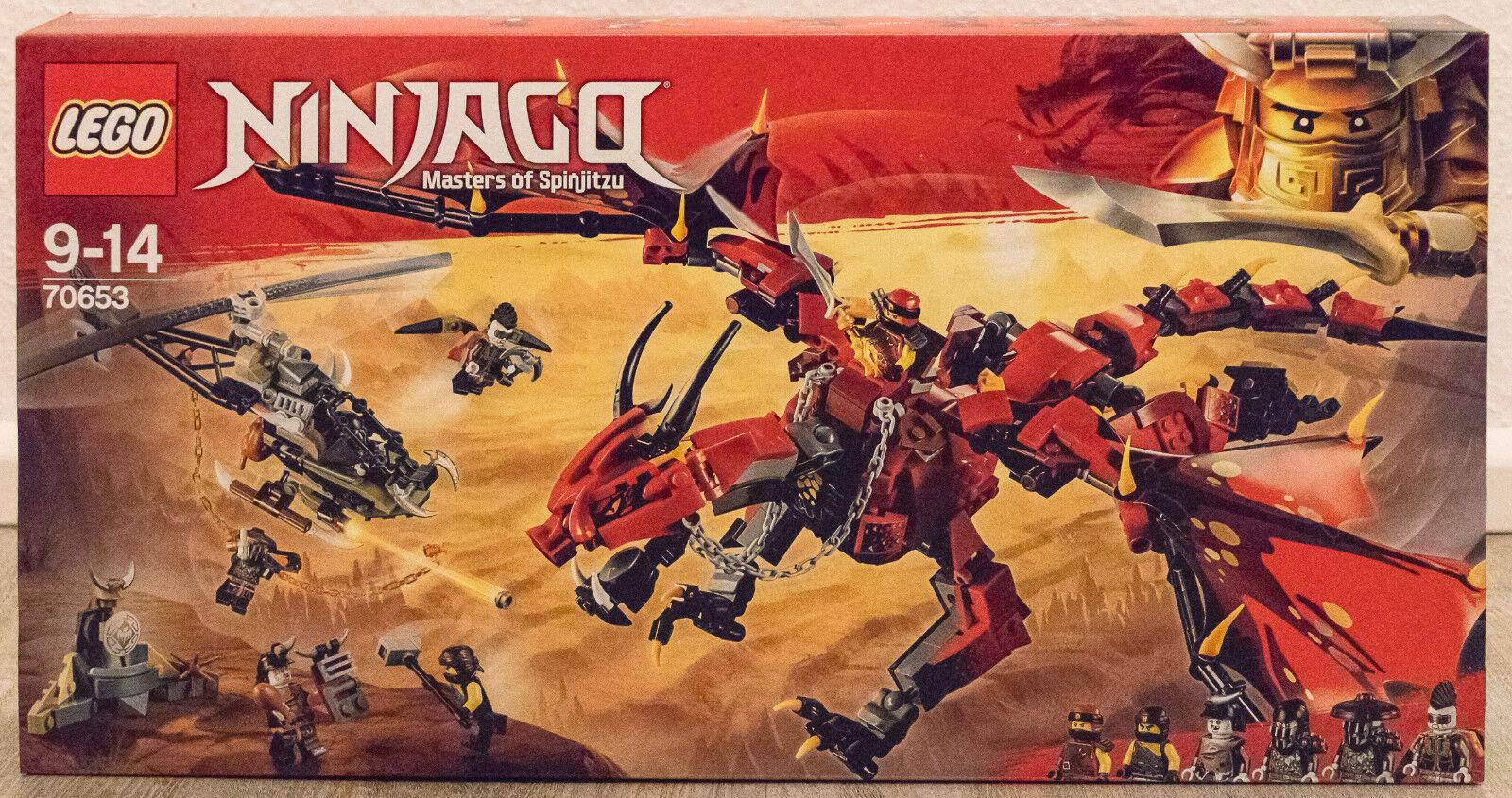 Lego Ninjago mère des dragons (70653)