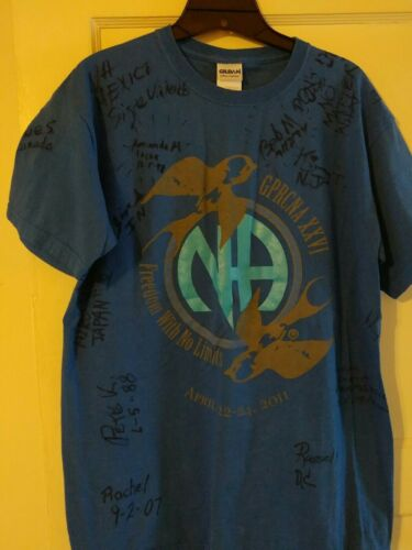 Narcotics Anonymous 60th Anniversary Signature Shi