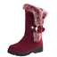 Women-039-s-Snow-Boots-Winter-Shoes-Warm-Fur-Lining-Mid-Calf-Flats-Buckle-Booties-US thumbnail 16