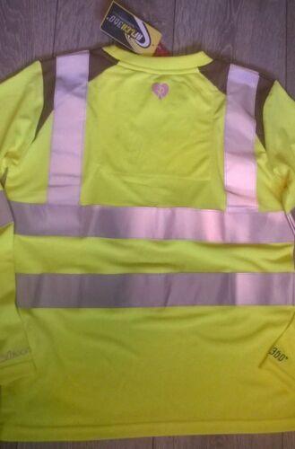 kids equestrian long sleeve t shirt top Hi viz vis yellow Horse riding Rockfish