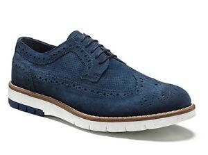 top design vendita di liquidazione completo nelle specifiche Dettagli su KEYS 3045 AVIO scarpe uomo francesine inglesine sneakers  mocassini camoscio