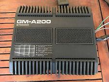 Amplificatore per auto d'epoca Pioneer GM-A200 come nuovo! vintage