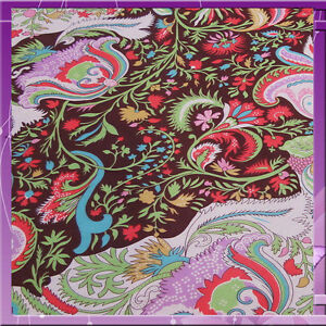 100% RAYON FLOWER / FLORAL 54 INCHES WIDE FABRIC SOLD BY THE YARD MULTICOLOR