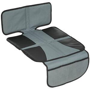 Autositzauflage-Unterlage-Kindersitz-Spielzeugtasche-Sitzschoner-Auto-schwarz