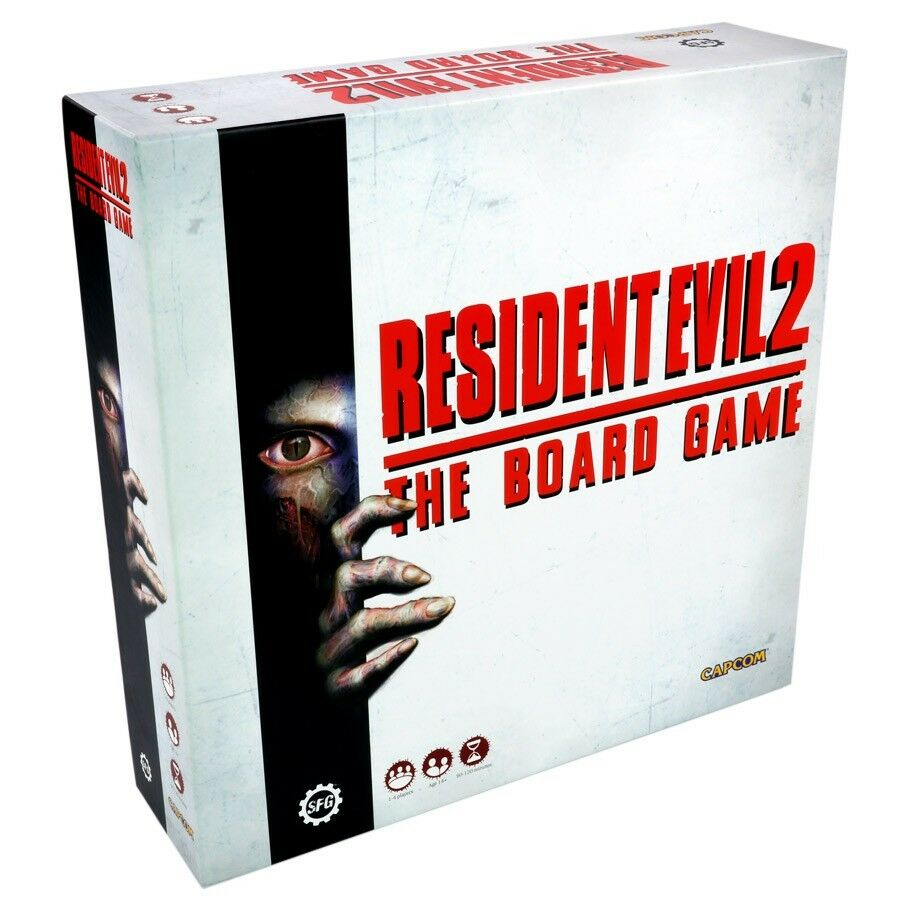 Resident Evil 2 Board Game Multiplayer RE2 Steamforged Games STERE2-001