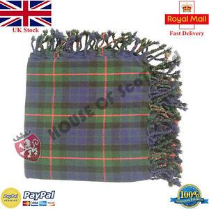 ST Scottish Fly Plaid 48 x 48 LEMONT TARTAN  Acrylic Wool//Highland Kilt