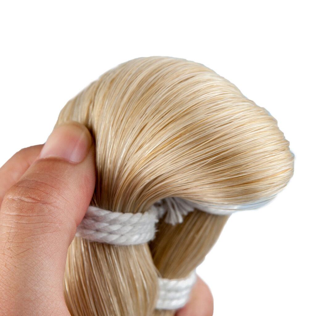 1 Hank de 4 4 4 4 3 4 violín Bow hair Horse Tail hair Bow piezas de repuesto 1b9461
