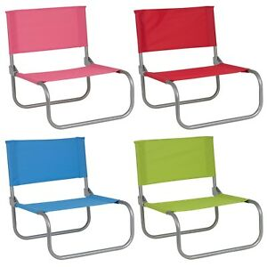 Sedie Colorate Da Giardino.Portatile Pieghevole Basso Colorato Sedie A Sdraio Da Giardino Pic