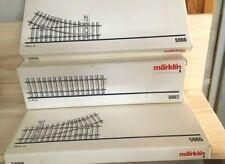 3x Märklin 5903 gerades Spur 1 Gleis in 300 mm