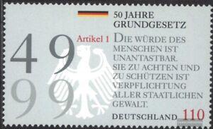 BRD-BR-Deutschland-2050-kompl-Ausg-postfrisch-1999-50-Jahre-Grundgesetz